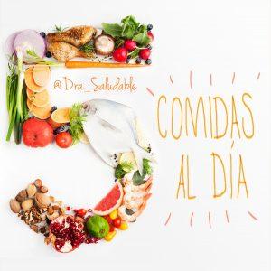 Doctora Saludable / Dra_Saludable 5 comidas